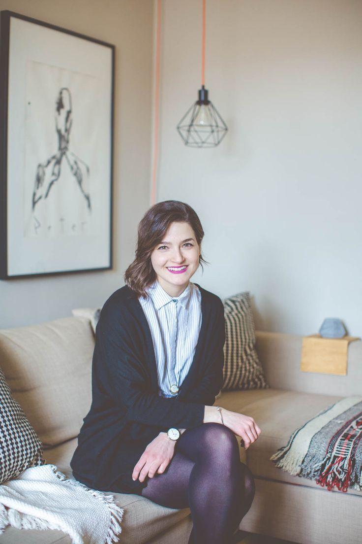 Parfaitement Imparfait: Le condo de Sophia à Outremont - Damask & Dentelle blog