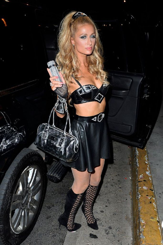 Paris Hilton – Bootsy Bellows Halloween Party : Global Celebrtities (F) FunFunky.com