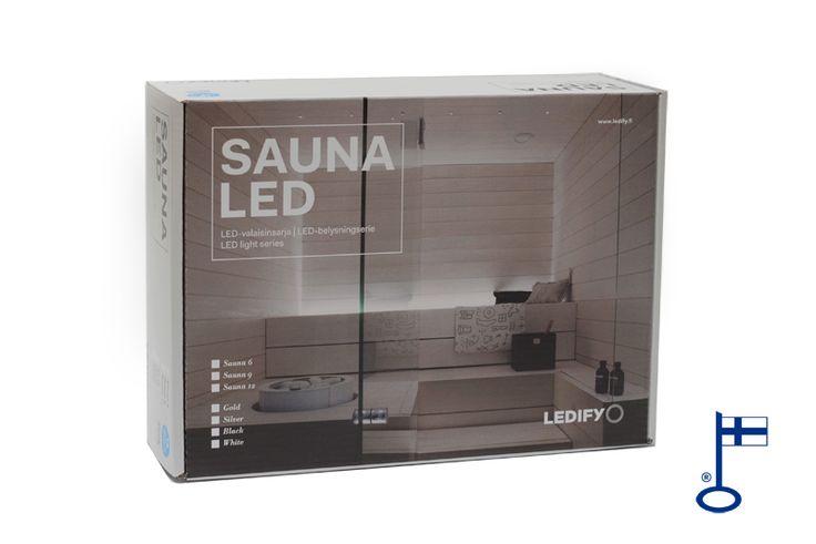 Näyttävä SAUNA LED -valo luo kohde- ja tunnelmavalaistuksen kaikkiin tiloihin.    Sopii erittäin hyvin saunan kattoon tai selkänojan taakse ja esim. huoneen katon tähtitaivaaksi sekä sisustukseen jne.    SAUNA LED-valosarjan valon väri on lämmin valkoinen.    Valaisimien minimi asennusetäisyys on 50 cm kiukaasta. OverLED:in valikoimissa on kolme erilaista väriä valaisimille: kulta, hopea ja musta. Pakkauksessa 6, 9 tai 12 valopistettä.   Voidaan himmentää Vadsbo PWM360 -valonsäätimellä…