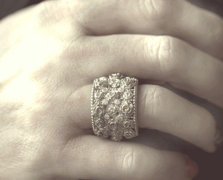 Jenna Clifford Renaissance Rose ring