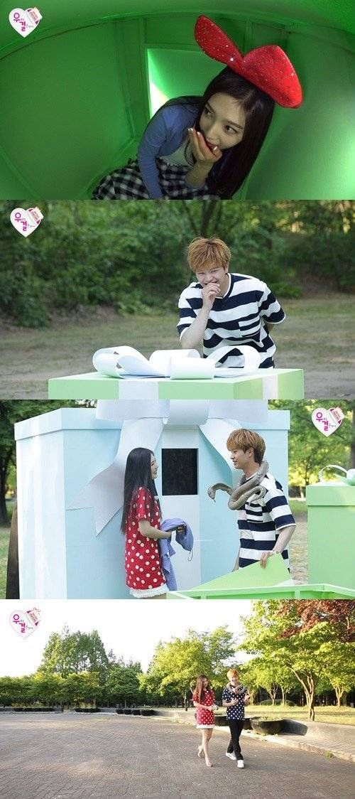 "Red Velvet's Joy Meets BTOB's Sungjae for First Time on ""We Got Married"" 