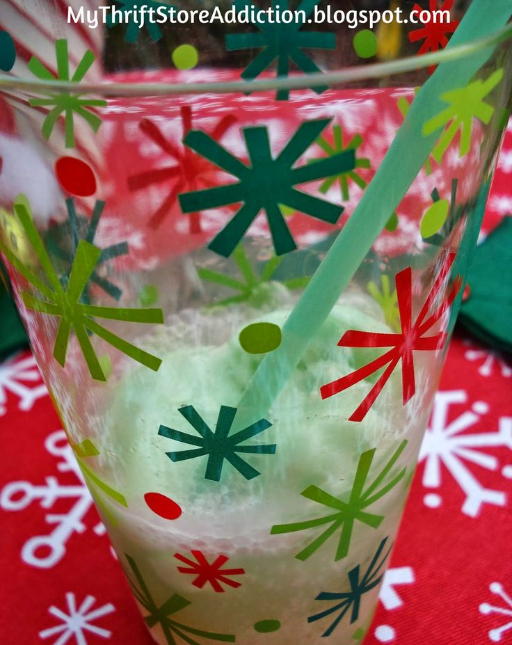 My Thrift Store Addiction : Grinch Party Revisited! #GrinchPunch #Party #Kids #Celebrate