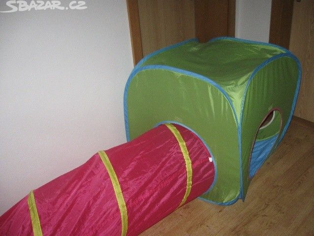 stan kostka Ikea + tunel, - obrázek číslo 1