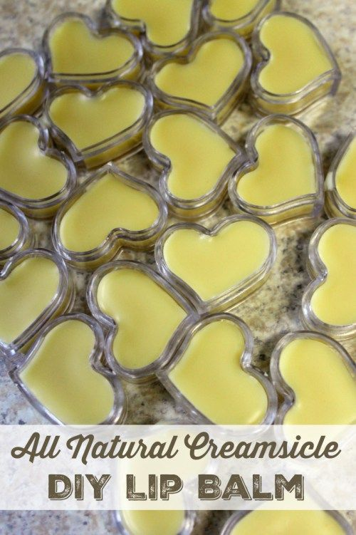 Do you love all natural beauty products? Then you'll love this lip soothing DIY lip balm that features a yummy creamsicle scent. Your lips will thank you!