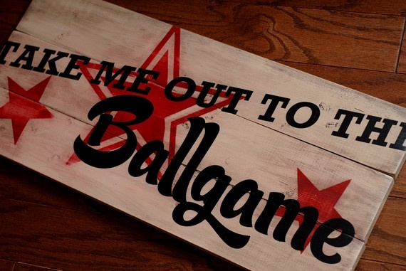 Love this baseball sign!