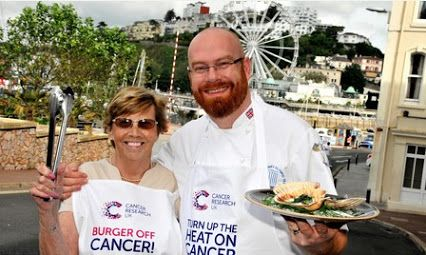 A Taste of Devon - A Michelin star chef is joining forces with Cancer Research UK to get locals firing up the barbie for charity this summer.