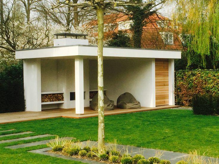 Tuinpaviljoen gebouwd door van den hoven bouw
