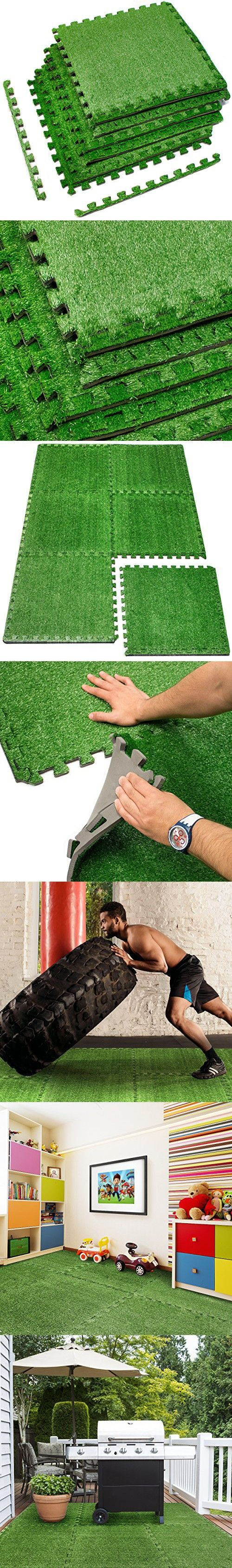 The 25 best artificial grass mat ideas on pinterest for Grass carpet tiles