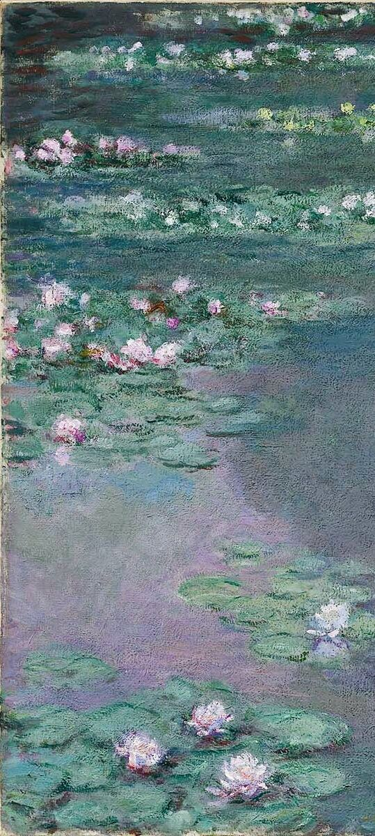 """Claude Monet (French, 1840–1926) - """"Water Lilies"""" (detail), 1905 - Museum of Fine Arts, Boston"""