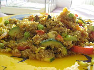 Quinoa con Verduras y Salsa de Soja | Mis Recetas Anticáncer