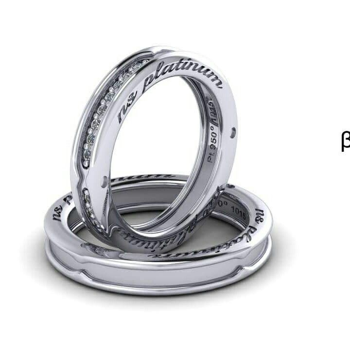 Wedding ring with platinum and diamonds!  Βερες από πλατίνα με διαμάντια!