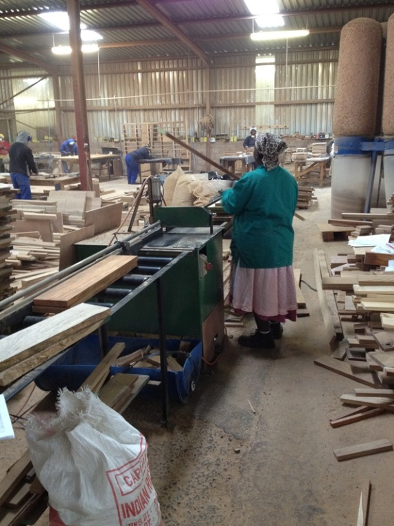 4. Pieces are rough cut to size for further processing. our trained workers skilfully draw pieces as close as possible to the sizes they will need to cut to minimise wastage, a factor we watch closely throughout manufacturing.
