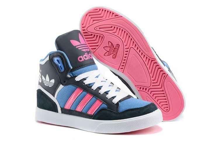 Heerszuchtig Adidas Originals Extaball Mesh Zwart Blauw Roze Sneakers 76p7039