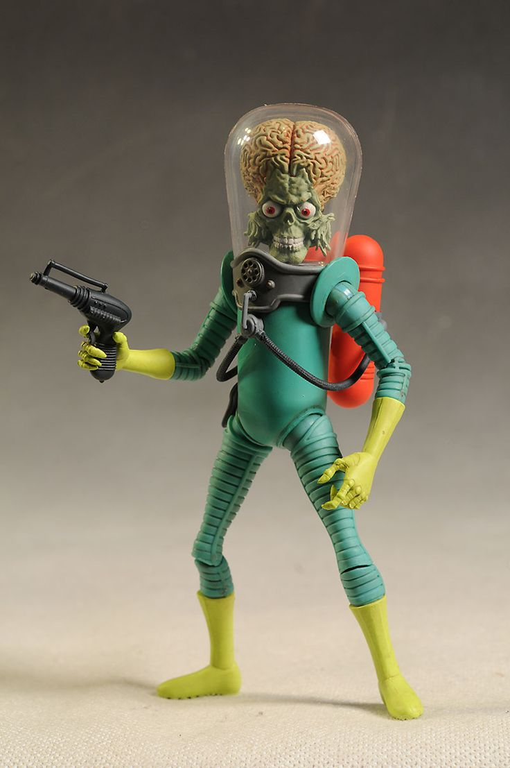 Mars Attacks Martian action figure by Mezco Toyz