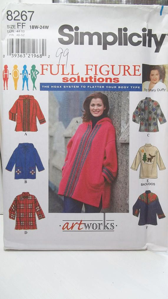 128b21f1b6 Women s Boho Style Hooded Jacket Simplicity 8267 Sewing