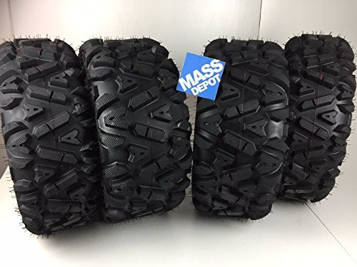 "FOUR 26x9-12 26x11-12 KT Mass Fx big TIRE SET FOUR ATV TIRES SIX PLY 26"" horn  #wheelsandtires https://www.safetygearhq.com/product/automotive/four-26x9-12-26x11-12-kt-mass-fx-big-tire-set-four-atv-tires-six-ply-26-horn/"