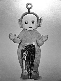 teletubbies + the ring