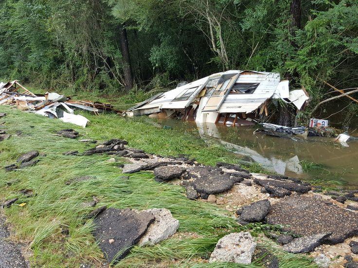 Louisiana Flooding Looks Like A Weather Horror Movie