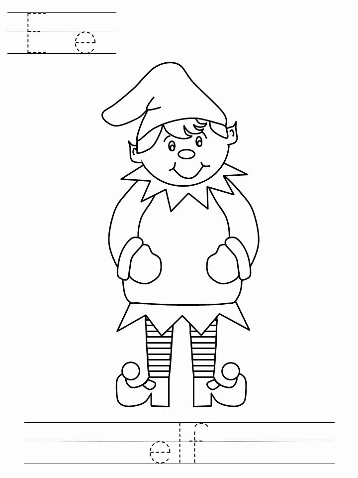 Elf On The Shelf Coloring Page Fresh 30 Free Printable Elf The Shelf Coloring Pa In 2020 Santa Coloring Pages Christmas Present Coloring Pages Christmas Coloring Pages