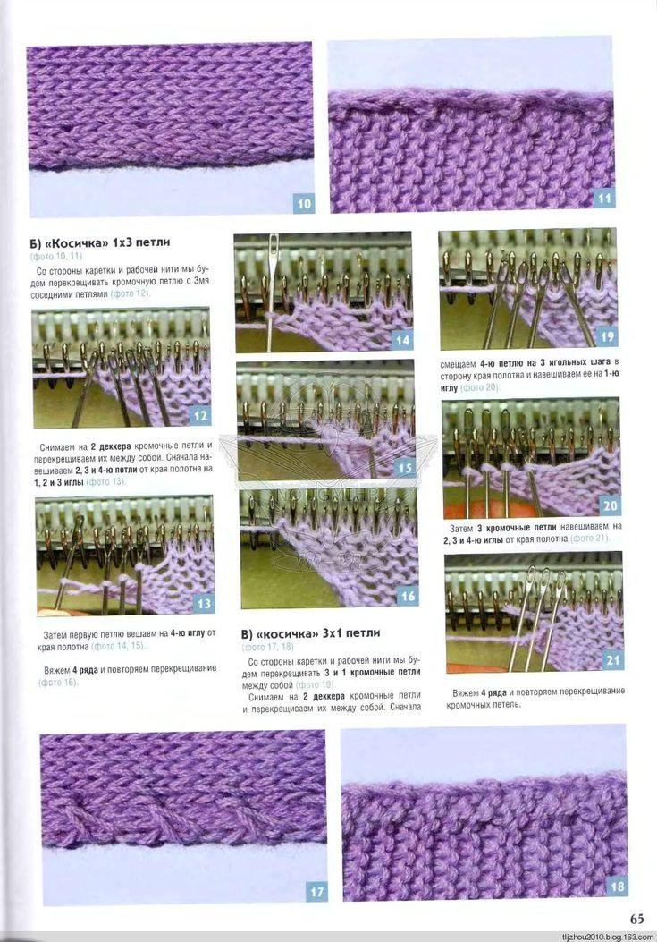 Edge for knitting machine (4)