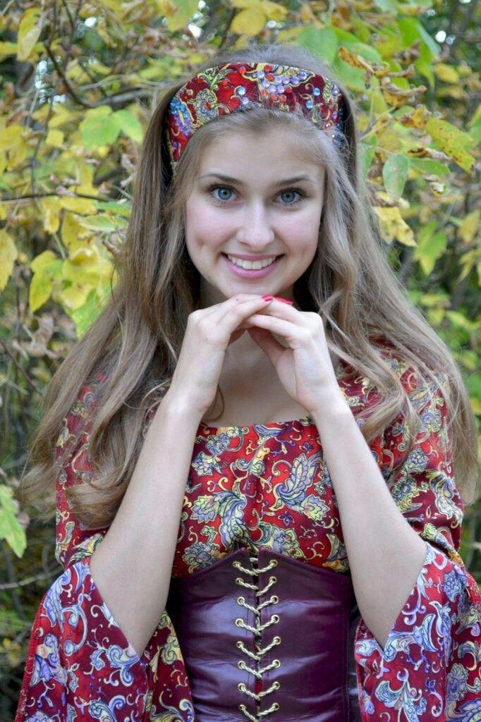 Русскую красавицу домашнее