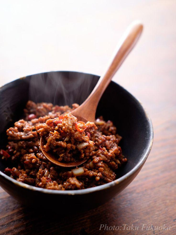 台湾ミンチ by 福岡拓 | レシピサイト「Nadia | ナディア」プロの料理を無料で検索