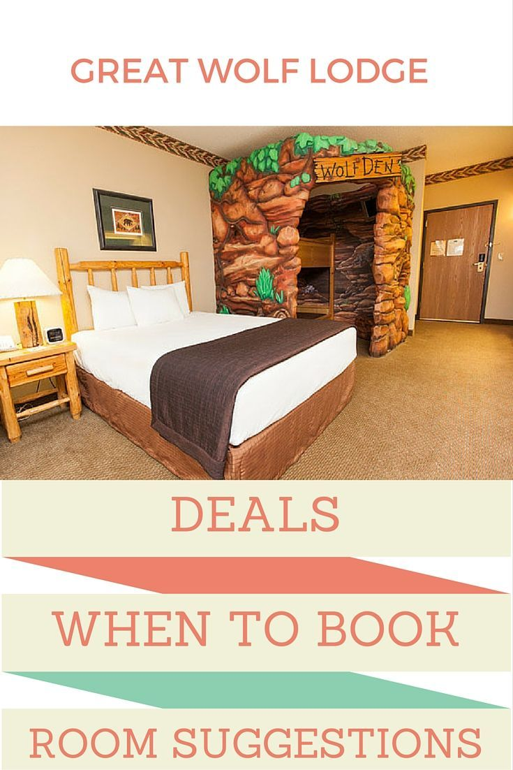 Finding the best deals, times to book and rooms for your local Great Wolf Lodge.