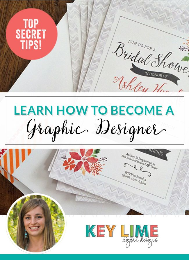 Learn How to Be A Graphic Designer – Top Secret Resources | Key Lime Digital Designs | Bloglovin'