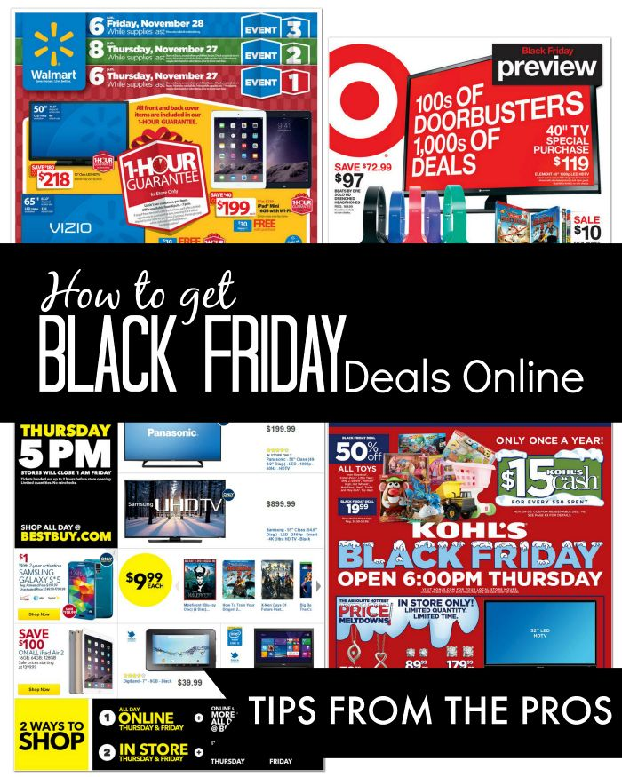 Black Friday Deals Online | Expected Starting Times for Sales