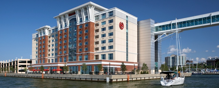 the sheraton erie bayfront hotel view from the water. Black Bedroom Furniture Sets. Home Design Ideas
