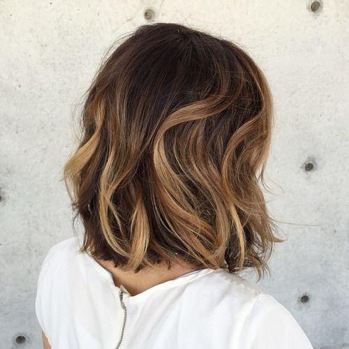 Brunt som grund med ljusa balayage effekter, höstens stora trend för er brunetter! Bilder härifrån