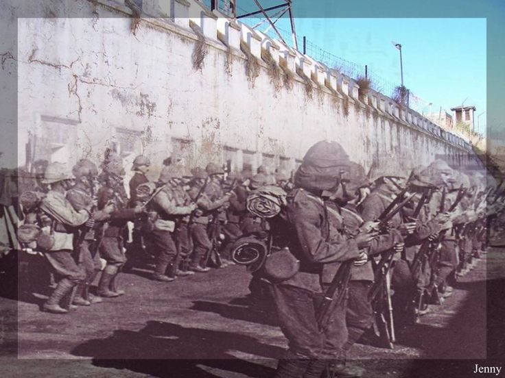 The Boer War in Color.
