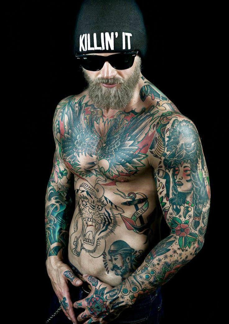 Tattoo & Ink: Tattoo & Ink Model - Josh Mario John