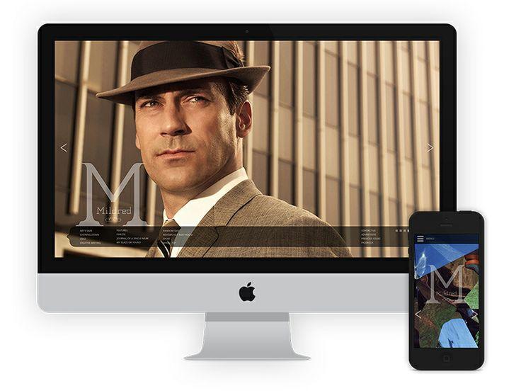http://www.wearedando.com/portfolio/mildred/ #onlinemagazine #webdesign #responsivedesign