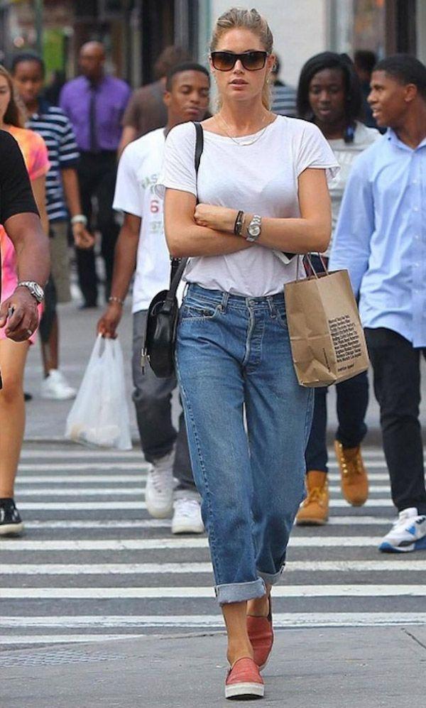 Street style da modelo Doutzen Kroes