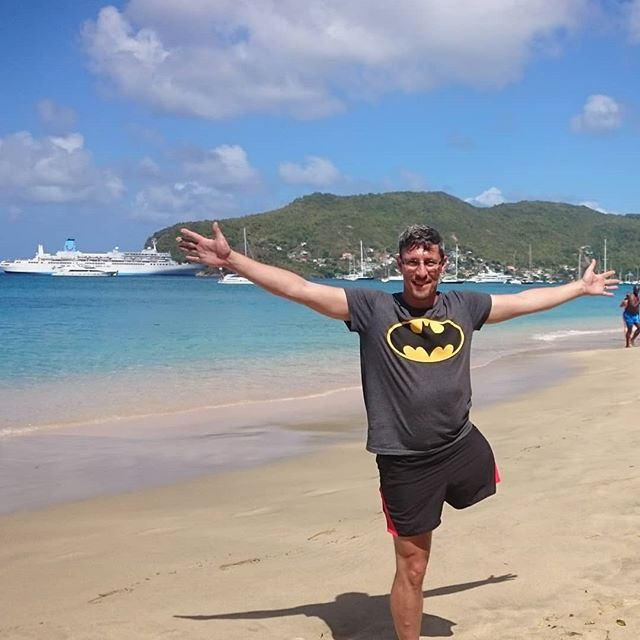 Having an amazing time hopping around the #Caribbean #lukesworldhop #Lukedeards #disabled #Travel