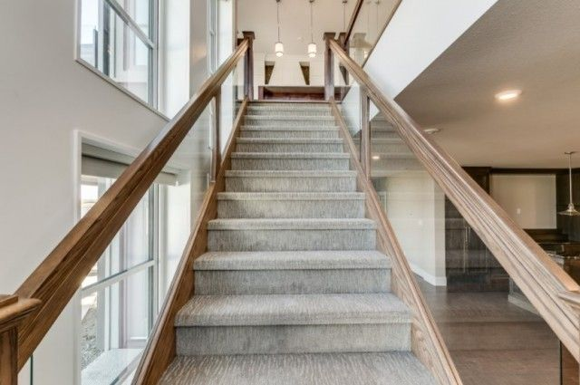 Stylish stair carpet ideas and inspiration. So you can choose the best carpet for stairs...Quality rug for stairs, stairway carpets type, etc.