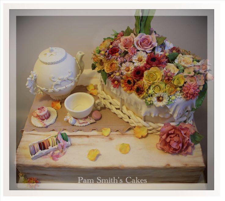 Serenity... Argento Campionati Nazionali Cake design 2013