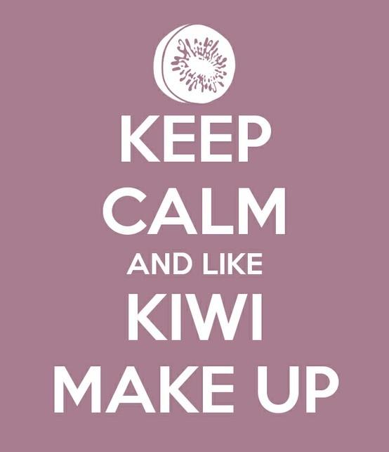 Keep Calm and Like Kiwi Make Up  https://www.kiwimakeup.com