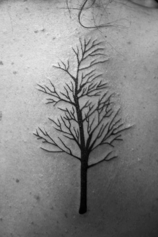 Birch Tree Tattoo