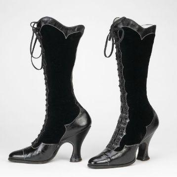 Botas de mujer - Suecia - 1890-1915