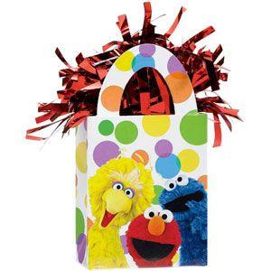1062 - Sesame Street Balloon Weight www.facebook.com/popitinaboxbusiness