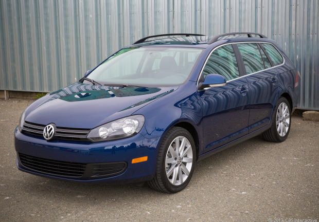 2010 Volkswagen Jetta SportWagen TDI, Blue, dual clutch automatic, wagons, German cars.