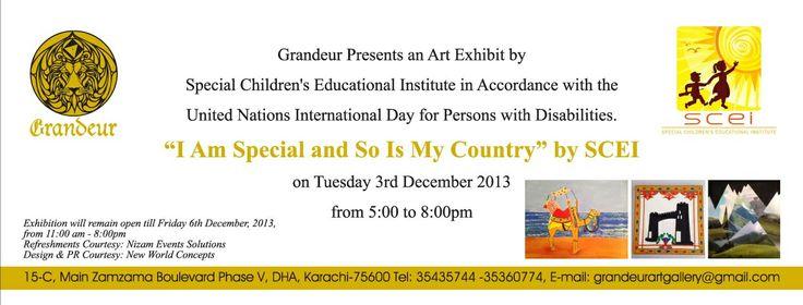 Art Exhibition Invite