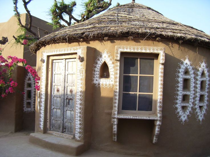 indian mud huts - Google Search
