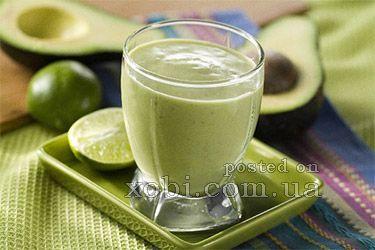 молочный коктейль из авокадо