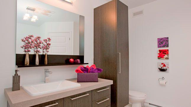 Finition parfaite dans la salle de bains les salles de for Dans ma salle de bain