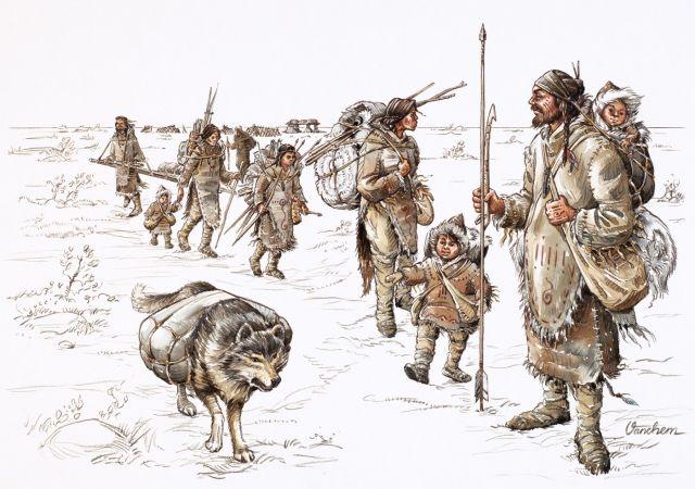 Prehistoric Hunters and Gatherers by Mats Vänehem