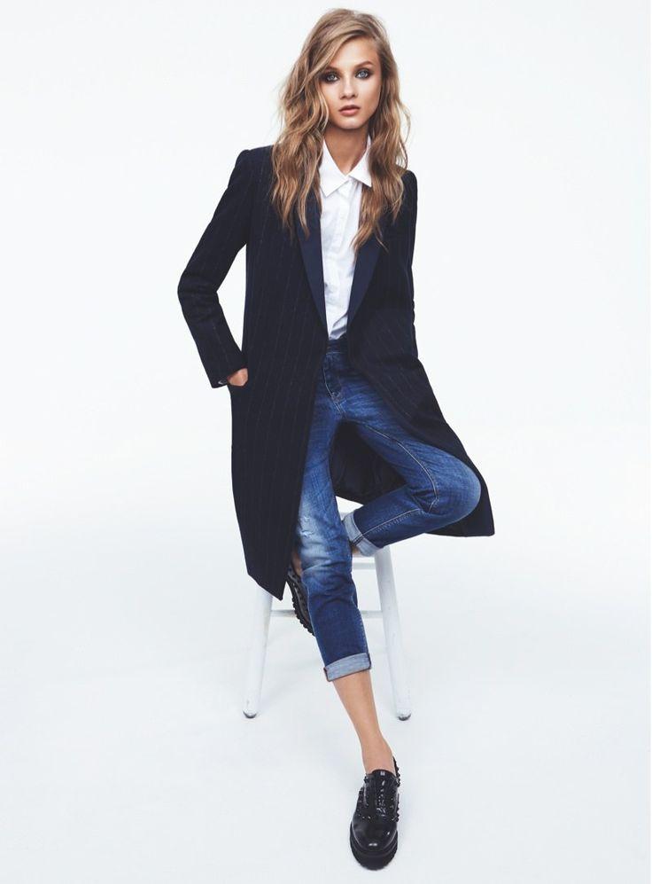 Anna Selezneva for Mango Fall 2013 Catalogue | FashionMention