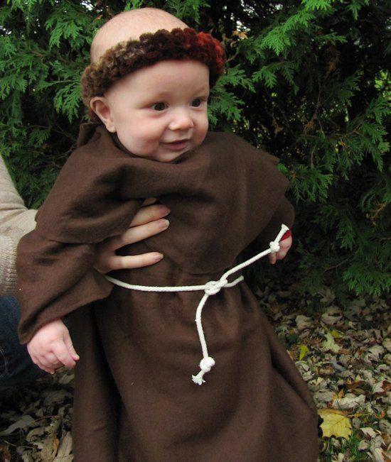 Baby monk costume